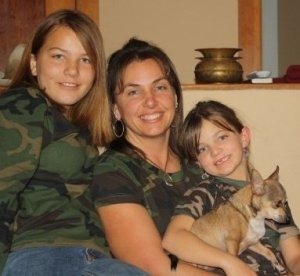 Traci Davis and Daughters Laurel & Taylor
